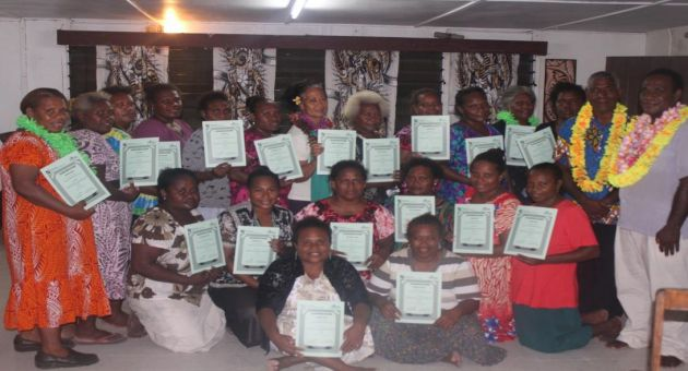 SIWIBA Successfully Completed a Three Day Training in Tulagi for its Members